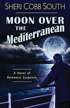 Moon Over the Mediterranean